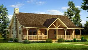 3 bedroom 2 bath log cabin floor plans