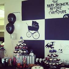 nightmare before christmas baby shower christmas decorating