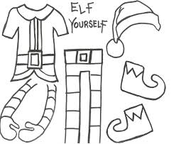 elf yourself take up close photos of the students heads and cut