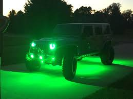 jeep wrangler rock lights 2014 billet jk unlimited venom motorsports grand rapids mi us
