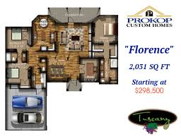 2200 sq ft floor plans available floor plans in tuscany prokop custom home builders