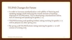 spring ell assessment update tetn january 27 ppt download