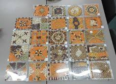 ideas for ks2 roman project roman mosaics group activity with y3 end of range 10x10 tiles on