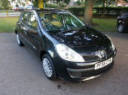renault clio 2007 black used renault clio 1 5 turbo diesel 2007 facelift in gl52