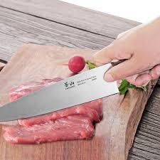 pink kitchen knives w series forged chef knife cangshan cutlery touch of modern