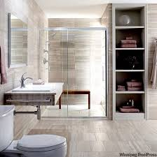 clever bathroom ideas connie oliver that small space feel bigger winnipeg free