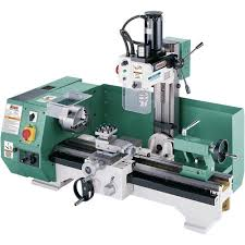 amazon com grizzly g0516 combo lathe with milling attachment