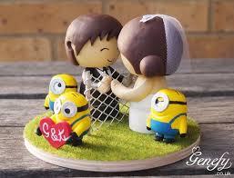 minion wedding cake topper 11 best minions wedding cake topper by genefy playground