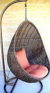 Patio Chair Swing Hanging Egg Chair Might Be Cool In Place Of A Traditional Rocker