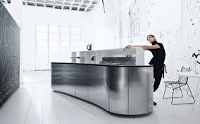 edelstahl küche küche alessi aus edelstahl edles küchen design valcucine
