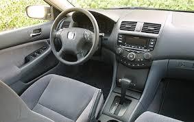 Honda Accord 2003 Interior 2003 Honda Accord Vin 1hgcm56303a080206 Autodetective Com