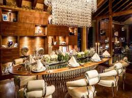 Table Six Restaurant Six Star Luxury Chalet Zermatt Peak Switzerland Hotels Design