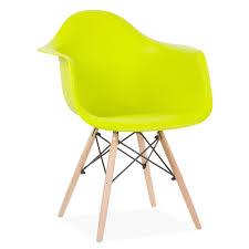 Esszimmerst Le Yellow Stuhl Wooden Arms Color Edition Design Klassiker Daw