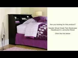 Shoal Creek Bedroom Furniture Sauder Shoal Creek Twin Bookcase Headboard In Jamocha Wood Youtube