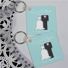 keychain wedding favors gfn 402 personalized and groom wedding favor key chain