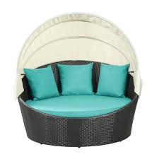 Turquoise Patio Furniture by Enclave Outdoor Bed Modern Furniture U2022 Brickell Collection