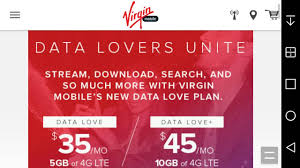 Mobile Plans by Virgin Mobile Usa Launches 35 5gb Data Love U0026 45 10gb Data Love