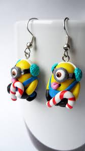 minion earrings minions earrings by velwoo on etsy 16 50 polymer clay