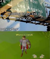 Getting Lost Meme - getting lost runescape know your meme