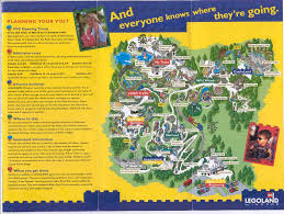 Six Flags Ad Theme Park Brochures Legoland Windsor Theme Park Brochures