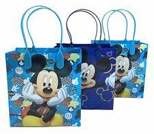 mickey mouse favor bags disney birthday child mickey mouse party bags fillers ebay
