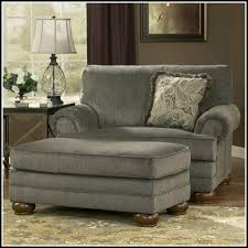 leather oversized chair and ottoman chair home furniture ideas