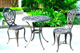 metal patio table and chairs metal outside table metal patio tables metal table fan hunter