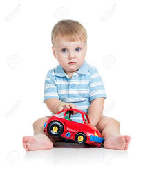 toddler toy car funny boy kid playing with toy car stock photo picture and
