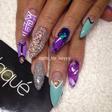 the gorgeous life nails by kayy from laque nail salon talks