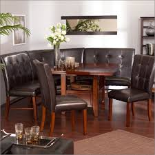 kitchen room wall small breakfast nook furniture using brown