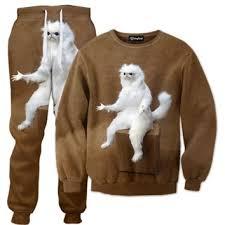 Persian Cat Meme - persian cat room tracksuit from get on fleek things i want as
