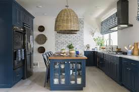 Kitchen Cabinets Winston Salem Nc Bold Color On Kitchen Cabinets Is A Thing Home U0026 Garden