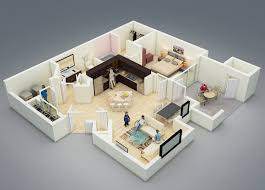 One Room House Designs - One bedroom design