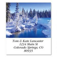 mountains address labels colorful images