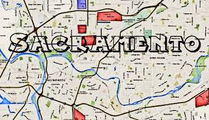 Discovery Park Seattle Map by Map Of Sacramento Gangs Hoods And Ghetto