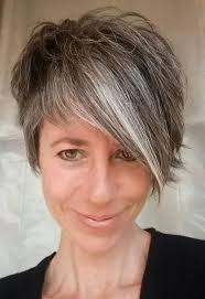 how to achieve salt pepper hair photo gallery of short haircuts for salt and pepper hair viewing