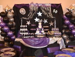 50th birthday party ideas birthday purple 50th birthday bash purple birthday