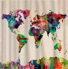 Detailed World Map Standard Time by Download Map World Curtains Major Tourist Attractions Maps