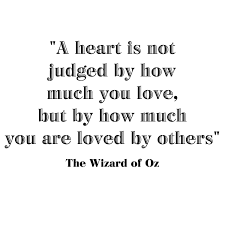 Wizard Of Oz Wall Stickers A Heart Is Not Judged By Wizard Of Oz Wilsongraphics