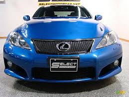 lexus isf blue 2008 ultrasonic blue mica lexus is f 42378728 photo 2 gtcarlot