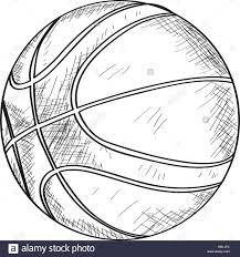illustration of a basketball stock photos u0026 illustration of a