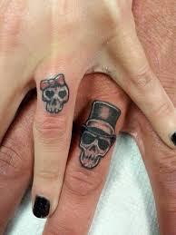 skull wedding bands skull wedding band tattoos finding wedding ideas