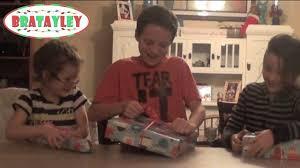 youtube gift exchange opening christmas presents a bratayley