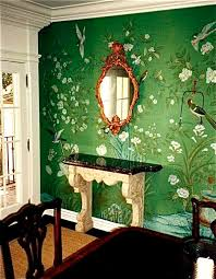 Green Dining Rooms by Best 20 Dark Green Wallpaper Ideas On Pinterest Green Accents