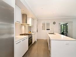 galley kitchens with islands white galley kitchen pictures with kitchen island home interior