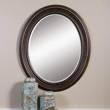 copper bathroom mirrors bathroom decorating using vintage dark brown metal copper framed