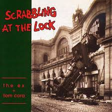 the ex scrabbling at the lock the ex