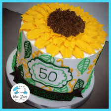 25 sunflower birthday cakes ideas country
