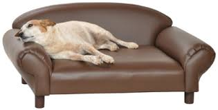 Leather Sofa And Dogs Big Dogs Beds Isadora Pet Sofa Beds