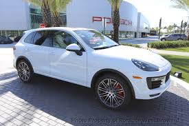 porsche suv 2017 2017 new porsche cayenne turbo awd suv for sale in fort lauderdale